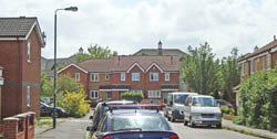 Cheam Hospital site