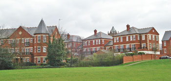 Claybury Hospital site