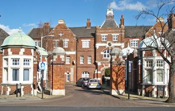 Grove Park Hospital Entrance