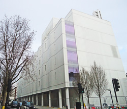 Site of Middlesex Hospital Medical School