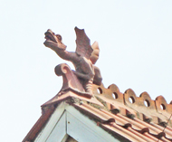 Dragon finial