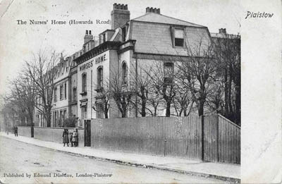 Plaistow Maternity Hospital Nurses' Home