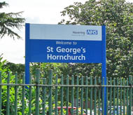 St George's Hospital, Hornchurch