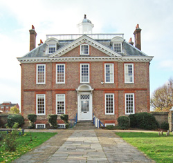 Eagle House Was Built In The Early 18th Century Queen Anne Style