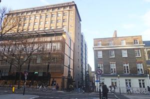 Tavistock Hotel UCL Engineering Building
